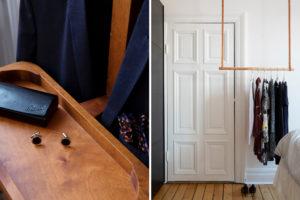Dettagli camera da letto svedese