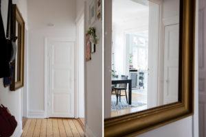 Ingresso casa in stile nordico
