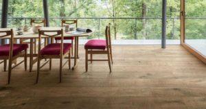 esempi pavimento gres porcellanato effetto legno