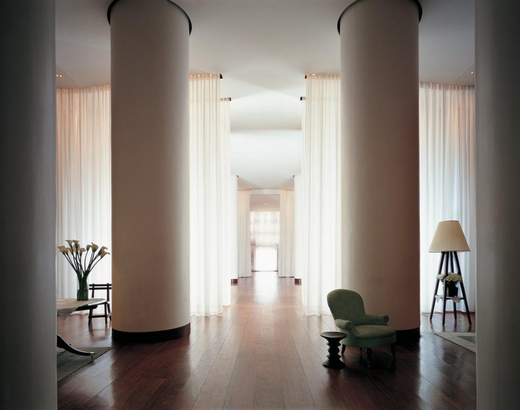 La hall dell'hotel Delano Miami