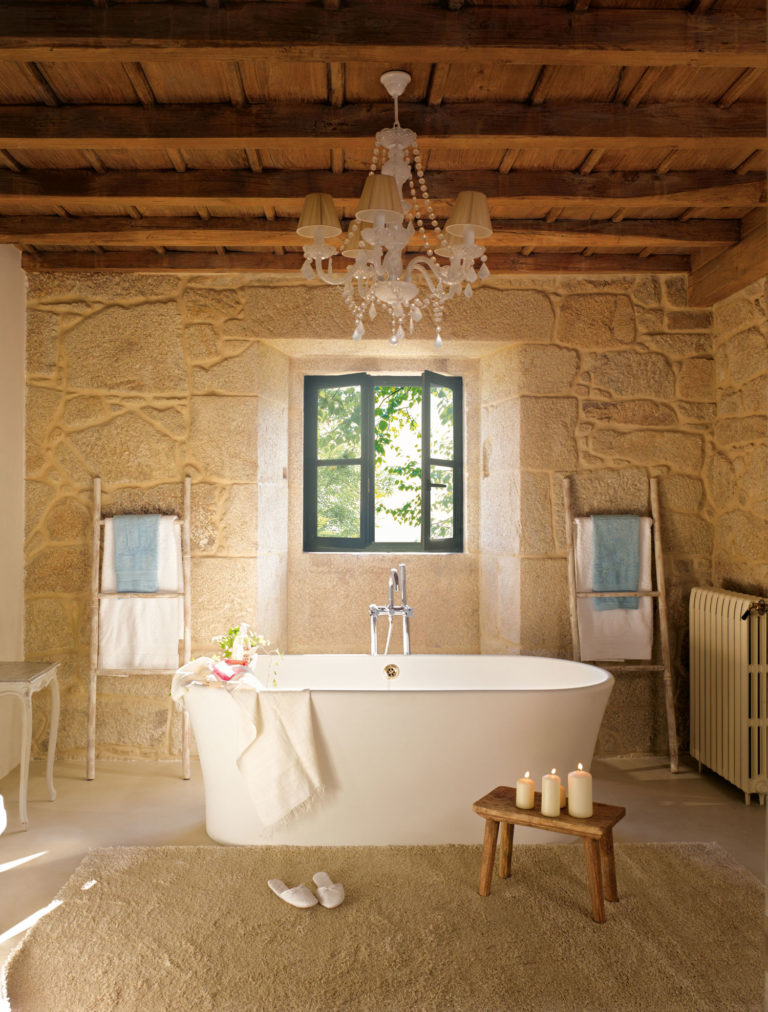 Bagno casa di campagna