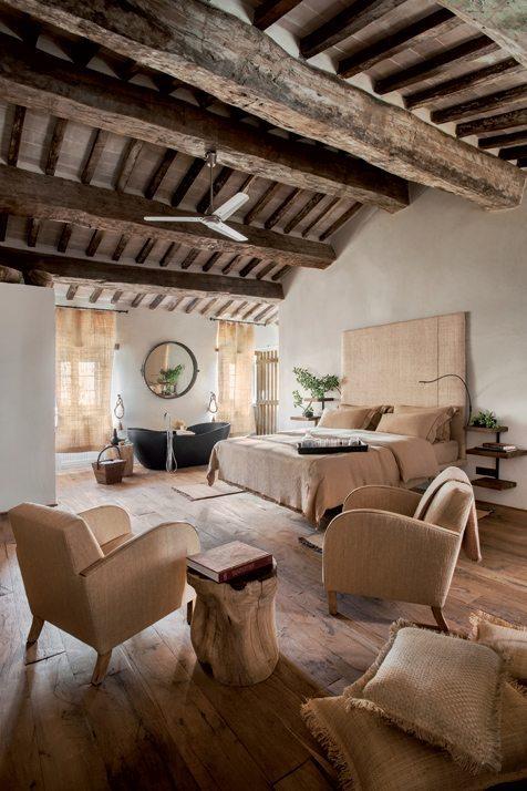 casa di campagna: salotto