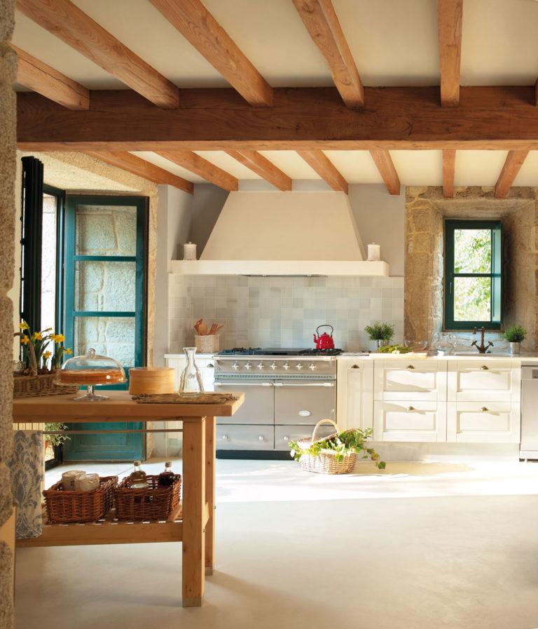 Cucina casa di campagna