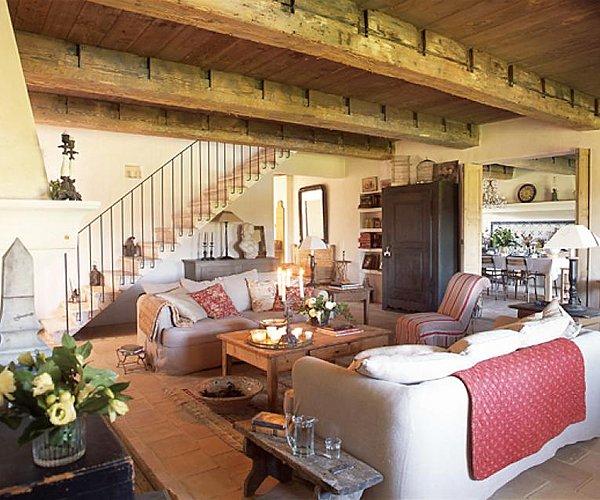 Soggiorno perfetto per casa di campagna