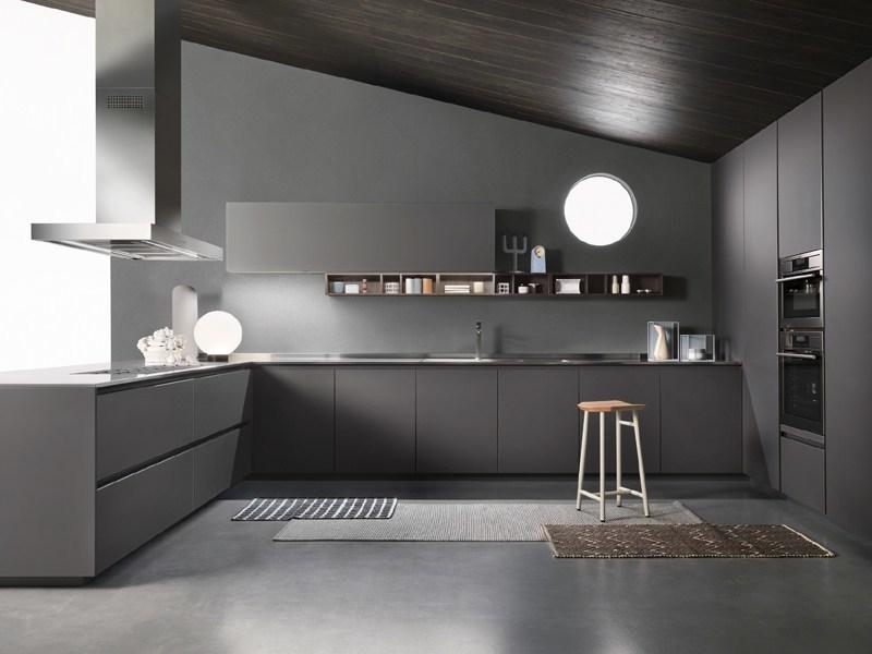 Cucina moderna con angolo