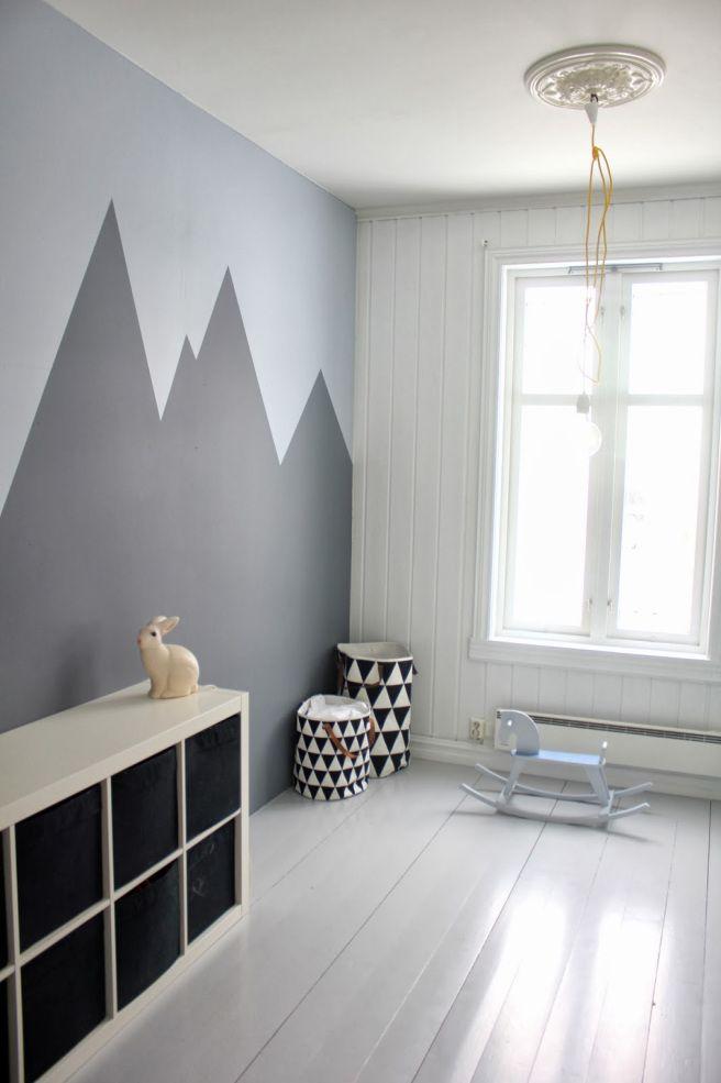 decorazione parete cameretta
