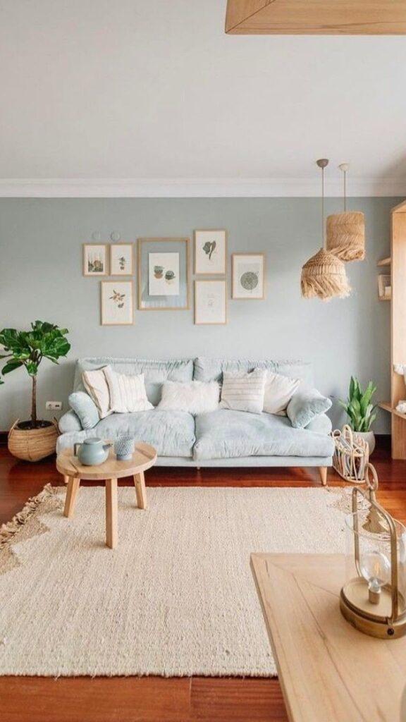 lo stile nordico in soggiorno