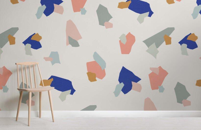 decorare le pareti con la carta da parati