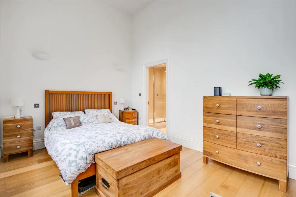 esempio di camera da letto stile inglese