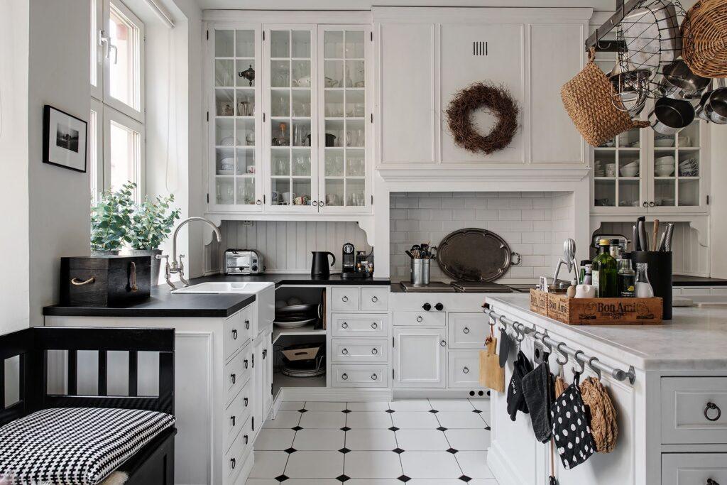 cucina casa svedese