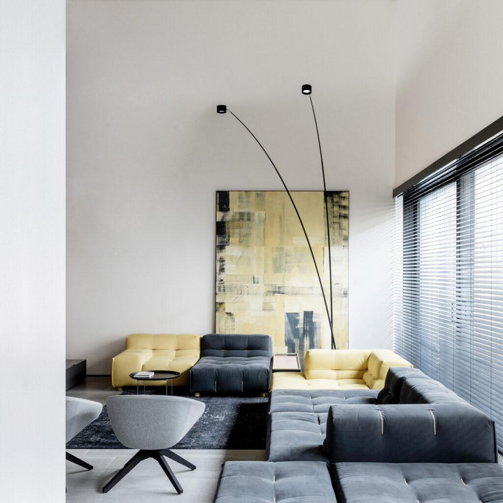Esempio illuminazione soggiorno
