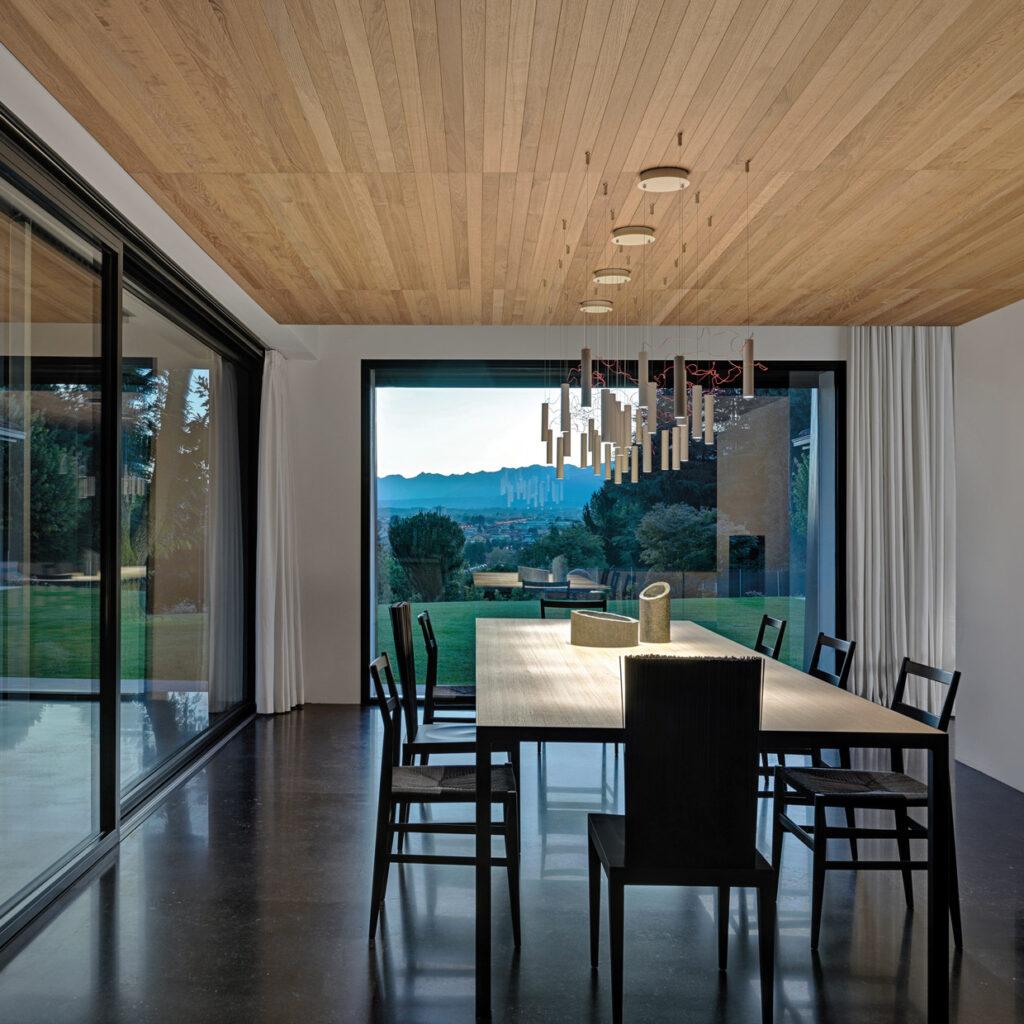 Illuminazione tavolo soggiorno