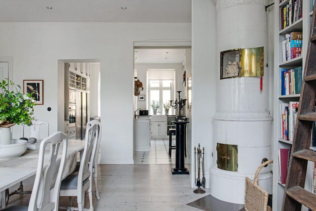 vista soggiorno cucina